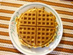 High protein Low Carb Waffles...Works with Dukan Diet or Atkins Diet.  Made with the oat bran required in the Dukan Diet.  Preheat waffle iron, spray with pan spray if necessary. In a microwaveable dish microwave 2oz (1/4 of a 8oz pkg) fat free cream cheese for 20 seconds.  Beat with fork add 2 eggs 1 at a time beating after each. Beat in 2 tsp Slenda & a sprinkle of salt. Add 3/4 tsp baking powder & 2 TBS oat bran and beat with fork. Pour 1/2 batter on hot waffle iron and bake. Yield 2 waffles.