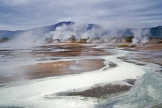 Life on Earth Began on Land, Not in Sea?  First cells likely arose in steamy mud pots, study suggests.
