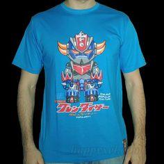 T-shirt UFO Grendizer blue