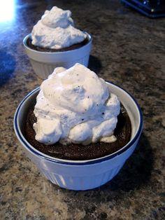 HappyWithout: Chocolate Lava Cake - Sugar free, flour less