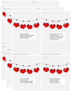 Create your customized Valentine's Day Scavenger Hunt in minutes!