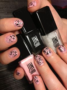 Nail inspiration: HELLO DOLLY DOTS by JINsoon. Read how to get this look on the #TheBeautyBoard> #Sephora #nailspotting #nailpolish