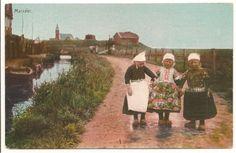 Marken Klederdracht #NoordHolland #Marken