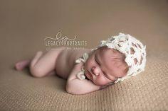 Ravelry: Fleurette Baby Bonnet pattern by Crochet by Jennifer
