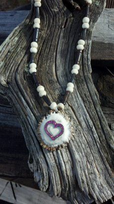 Heart Antler Jewelry