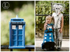 Six-year-old's Doctor Who birthday party