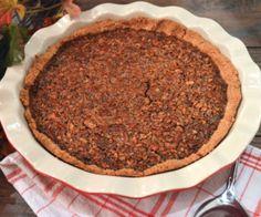 Paleo Apple Butter Pecan Pie