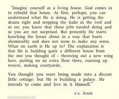 C.S. Lewis. I love this...