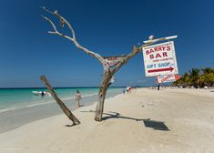 Barry's Bar, Negril, #Jamaica.  About five miles out of town.