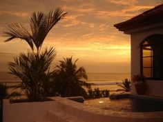 Beach sunset!