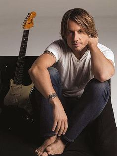 Keith Urban with Guitar