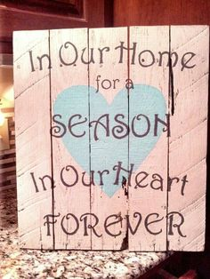Foster Care Sign --https://www.etsy.com/shop/Homeisasanctuary