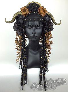 Tribal Flower Headdr
