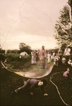 hippie bubble