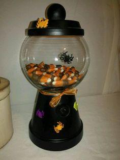 Diy dollar store candy jar