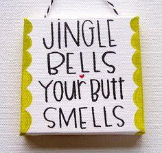 Jingle Bells ornament $12.00