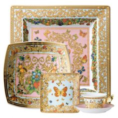 Versace Butterfly Garden Dinnerware Collection
