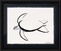 My future tattoo - Wyland brush art, sea turtle tattoo simple turtle, simple turtle tattoo ...
