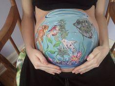 Fishbowl belly shot