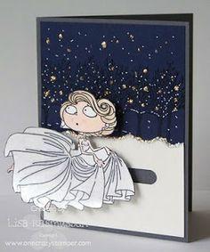 ONECRAZYSTAMPER.COM: Kraftin Kimmie's Cinderella running from the ball