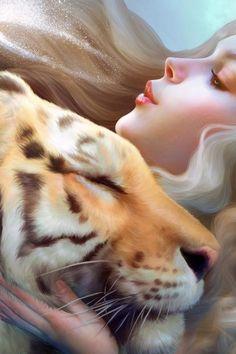 Tiger Girl Mobile Wa