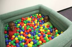 Ball pit from http://store.schoolspecialty.com