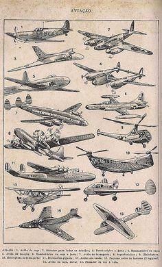 vintage airplanes poster, big boy room