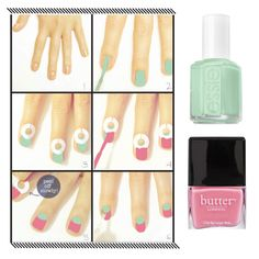 How to Do a Candy-Colored Half-Moon Manicure | Makeup.com