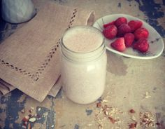Strawberry Almond Protein Dream Smoothie