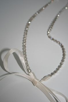Rhinestone Headband, bridal, wedding headband, bridal headband, bridal headpiece, ribbon, accessories, wedding, hair accessory