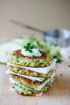 Zucchini fritters #snack #food #eat #eating #health #healthy #recipe #yum