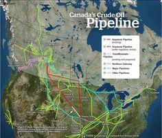 Canada's Crude Oil Pipelines