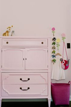 baby pink for nursery by Making it Lovely
