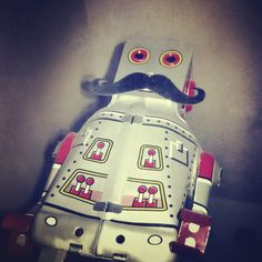 A brandirized robot to destroy the bad thoughts in Monday.