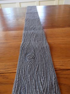 Weathered Wood Plank Quilted Table Runner by shannaquilts on Etsy