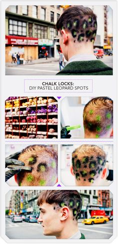 Have short hair? Neon leopard spots aren't the only way to go but they may be the BEST way to go.
