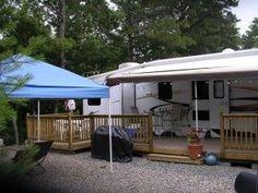 rv trailer deck ideas - Google Search