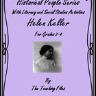 This 20 page lesson plan packet on Helen Keller with Literacy Activities is designed to provide 1-2 days of instruction and activities and includes...