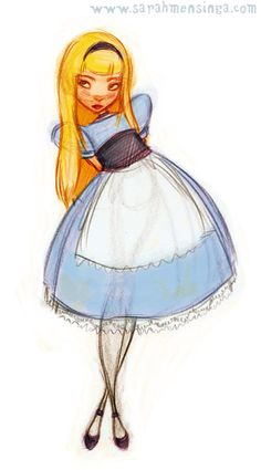 Alice by Sarah Mensinga.