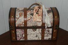 Wedding Card Box Destination Wedding Travel by GreenAcresCottage