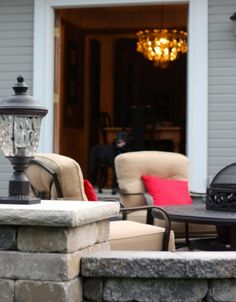 How We Paid Cash for a new patio -- great inspiration from this family who chose to wait until they could pay cash!