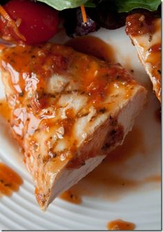 Grilled Chicken in Sun Dried Tomato Basil Vinaigrette