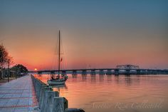 Very early morning in Beaufort South Carolina | Flickr - Photo Sharing! early mornings, beauti beaufort, beauti sunris, beaufort south carolina