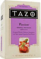 Tazo Passion Tea - My favorite tea!!!  #PinTeaTuesday