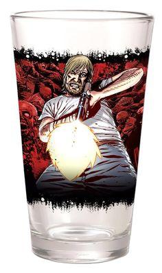 The Walking Dead Comic Pint Glass