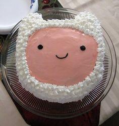 adventure time finn cake!
