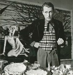 Bernard Buffet, ca 1960 -by Étienne Ostier