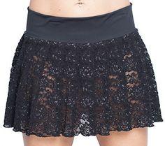 Black Lace Pleated Mini Skirt  http://www.schoolgirlskirts.com/collections/pleated-miniskirts/products/black-lace-pleated-mini-skirt