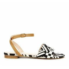 These are a great patterned sandals that can still be a staple shoe in your wardrobe.