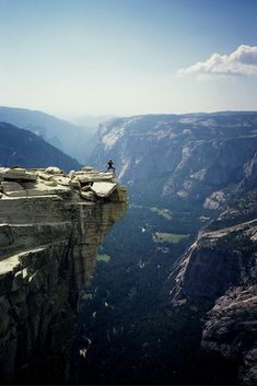 On top of Half Dome, Yosemite National Park, CA